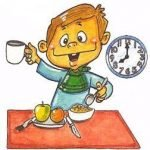 Siete desayunos para niños