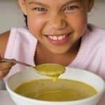 Siete cenas sanas para niños. Cena sana