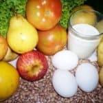 Dieta vegetariana. Menú ejemplo de dieta ovo-lacto-vegetariana equilibrada