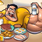 La alimentación que favorece el desarrollo muscular