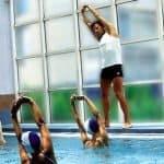 Aquagym o Fitness acuático. En forma dentro del agua