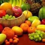 ¿Cuántas calorías tiene la fruta fresca?