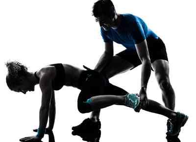Entrenador personal. Optimiza tu entrenamiento