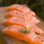 Calorías salmón