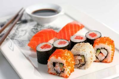 Sushi calorias por pieza