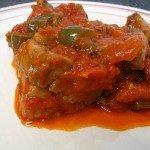 Receta de Atún con tomate