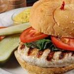 Receta de Hamburguesa de pavo baja en calorías