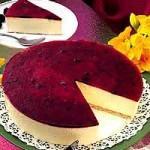 Receta de Tarta de queso con cerezas