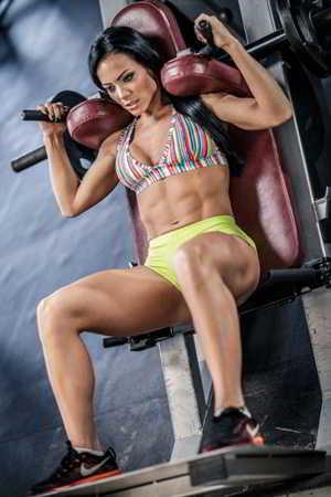 Pamela Rodríguez. Gym